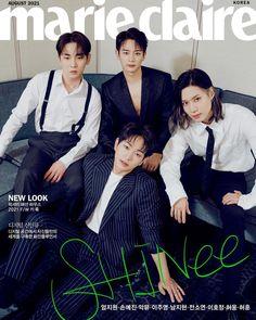 Shinee Twitter, Korea News, Shinee Debut, Onew Jonghyun, Pull Off, Marie Claire, Kpop Groups, South Korean Boy Band, Mini Albums