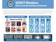 Free online activities for sensory and cause and effect teaching Math Stem, Cause And Effect, Aba, Maths, Teaching Resources, Lesson Plans, Software, Activities, How To Plan