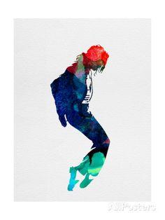 Michael Watercolor アートプリント