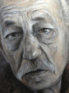 """Gerd"" Detail 42x60 cm / Pastel / 2013"