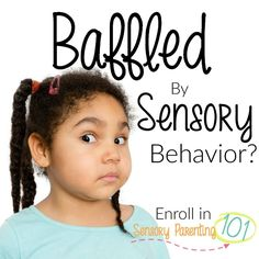 Click here to understand your child's behavior: http://sensoryparenting101.com/?affcode=85379_begg1afl #sensory #help #meltdown #parenting