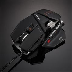 R.A.T. 7; basically the Optimus Prime of gaming mice. #GamerGirlSwag
