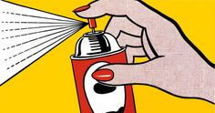 Roy Lichtenstein artwork Spray, 1962 by Roy Lichtenstein paintings at painting-frame.com