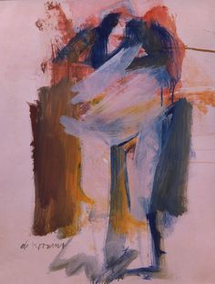 De Kooning, Willlem (1904-1997) - 1961 Woman II
