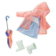 Our Generation® Deluxe Outfit - Rainwear™ : Target