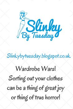 Weight loss and diet blog. Sorting through your wardrobe can be a really great thing when you're on a diet. It can boost you or spur you on!