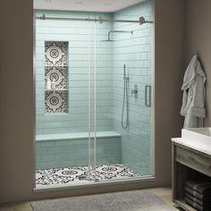 Bathroom Interior Design, Home Interior, Master Bathroom Designs, Small Master Bathroom Ideas, Interior Plants, Modern Bathroom Design, Modern Small Bathrooms, Master Bathroom Layout, Bathroom Shower Designs