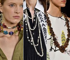 Spring/ Summer 2015 Jewelry Trends: Bejewelled and Beaded Jewelry