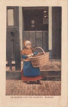 Vintage Costume Postcards  Marken  #NoordHolland #Marken