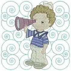 Quality Machine Embroidery Designs At Affordable Prices Boy Quilts, Machine Embroidery Designs, Quilt Blocks, Sailor, Blanket, Art, Art Background, Kunst, Blankets