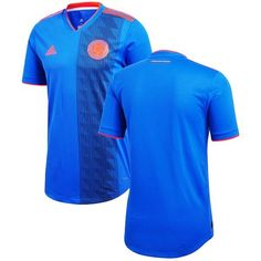 COLOMBIA 2018-2019 Men s WORLD CUP ROYAL BLUE JERSEY 76bae1a1e