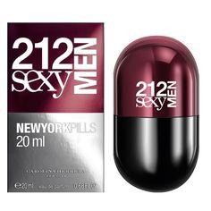 Купить 212 Sexy Men NYC Pills Carolina Herrera за 2250 руб #CarolinaHerreraForMen #духи #парфюм #парфюмерия Дерзкий, теплый, пряный аромат, предназначенный для настоящих мачо, которые умеют ухаживать за женщинами и дарить им комплименты. Он поможет даже самым скромным представителям мужског�