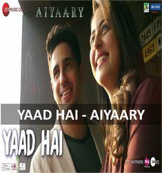 Yaad Hai Guitar Chords by Palak Mucchal & Ankit Tiwari -  #YaadHai #palakmucchal #aiyaary #ankittiwari #anyguitarchords