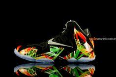 Reversed kings pride lebron 11 shoe
