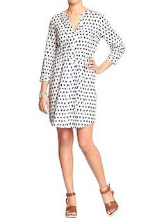 Have this dress in a petite size, but may get the regular so the length is a bit longer.