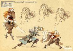 """Christophe """"Zébé"""" Lourdelet - Character Design Page"""