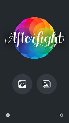 Afterlight app for iPhone pics - used by SeanWes for his instagram