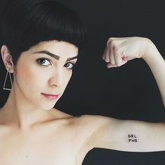 Pin for Later: 31 Ink Ideas That Empower Women She's Got the Power