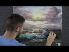 ▶ Paint with Kevin Hill - Sunset Beach - YouTube