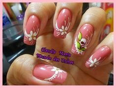 Pink and withe designe
