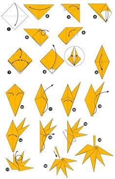 Origami de la hoja de arce