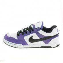 da85e96b3e1 Nike 6.0    Nike 6.0 Air Mogan White Black Varsity Purple. Kickzoo Shoes