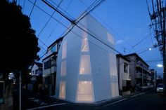 Tokyo iceberg home. Needs some color happiness inside, but love the shape.