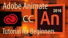 Adobe Animate CC Tutorial for Beginners - 2016 - http://tutorials411.com/2016/09/07/adobe-animate-cc-tutorial-beginners-2016/