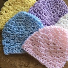 Take $2.00 off spring hats with purchase of spring crochet baby blanket. Just use coupon code ADDHAT2 at checkout!