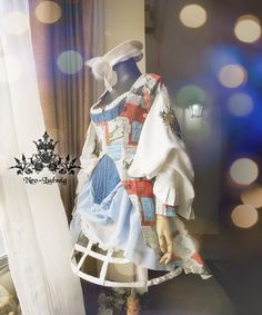 Fanplusfriend Daily Coordinate in Jan 4th, 2015: Everyone a Happy New Year!#DailyCoordinate 20150104Light blue printed fabric jacket with skirt set DR00149:http://www.fanplusfriend.com/last-chance-avant-courier-in-renaissance-3pcs-dress-skirt-chain-3colors-instant-shipping/ Blue corset Y00031:http://www.fanplusfriend.com/last-chance-antique-gothic-victorian-14-steel-bones-corset-vest-2colors-instant-shipping/ White pannier UN00003new: ...