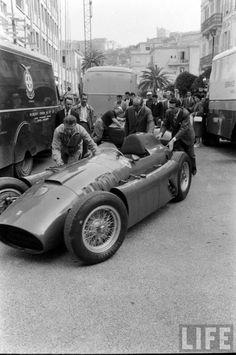 1956 Ferrari D50 at Monaco GP