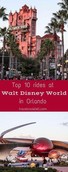 Top 10 Rides at Walt Disney World in Orlando  Travel Cook Tell