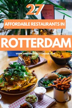 Pastas, pizzas, curries, a delicious bowl of ramen, in this article you can find amazing affordable restaurants in Rotterdam! If you want to be sure of a spot, it's recommended to make a reservation. Eet smakelijk! Which is Dutch for enjoy your meal ;). #WeekendsinRotterdam #Rotterdam #affordablerestaurants #restaurants #netherlands #wanderlust #foodie #foodies #eten #lekkereten