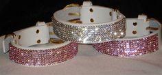 Bling Dog Collars with Swarovski Crystal
