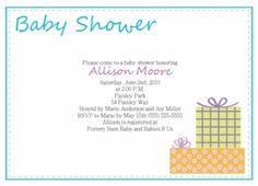 Examples Of Baby Shower Invites to give extra inspiration in making cool invitation wording 8618 Check more at http://thewhipper.com/best-collection-of-examples-of-baby-shower-invites-to-inspire-you/