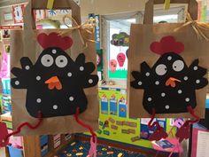Easter Art, Easter Crafts For Kids, Preschool Crafts, Spring Art, Spring Crafts, Art Lessons For Kids, Art For Kids, First Grade Art, Farm Art