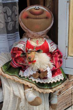 Коллекционные куклы ручной работы. Ярмарка Мастеров - ручная работа Кормилица моя!. Handmade.
