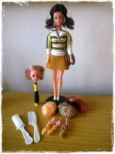 Vintage Barbie Doll Blonde Wig Clone (1967)
