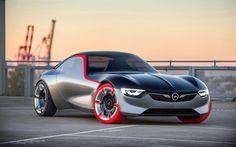 Scarica sfondi opel gt, sport coupe, 2016, le automobili del futuro