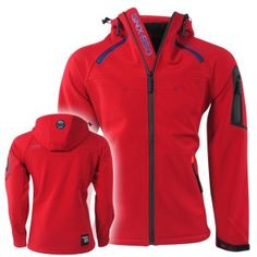 Geographical Norway - Heren Softshell Jas - Title Men - Rood