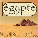 étiquette BCD égypte des pharaons