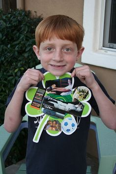 Such a cute St. Patrick's Day idea! Her son cut out all the things he was lucky to have in his life and put them on CTP's Shamrock Cut-Outs. #stpatricksday #activities #teachingideas
