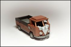 Nice and simple. Volkswagen Type 2, Vw T1, Lego Auto, Vw Camper, Lego Camper, T1 Bus, Lego Boards, Wheels On The Bus, Lego Toys