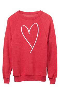Heart Sweatshirt (SHIPS 2/1)