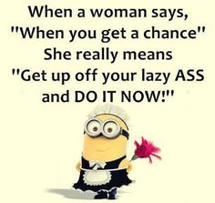 When a Woman Says | Funny Pictures, Quotes, Pics, Photos, Images