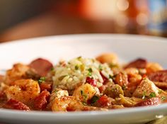The Y Gumbo At Ruby Tuesday Features Grilled Shrimp Fresh En And Andouille Sausage Served Over Rice Pilaf As One Of Your Side