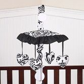 Found it at Wayfair - Sweet Jojo Designs Isabella Black and White Collection Musical Mobile