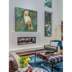 Marmont HIll Cockatoo Perched II Canvas Wall Art