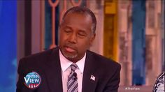 Whoopi Goldberg Questions Dr. Ben Carson on Women's Issues | The View