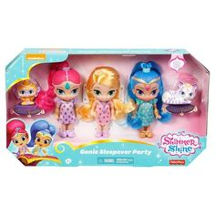 Fisher-Price Shimmer And Shine Genie Sleepover Party 3 Doll Giftset : Target